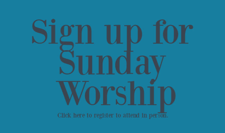 Sign up for Worship