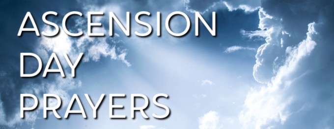 Header Image for Ascension Day Prayers